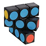 LanLan Super Floppy Cube, Black, 1 x 3 x 3 (Color: black)