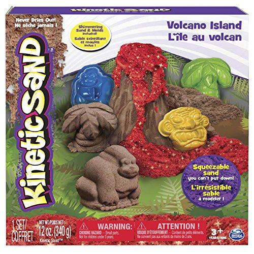 Kinetic Sand, Volcano Island Set - 1