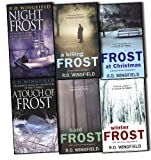 R D Wingfield R D Wingfield Di Jack Frost Series 6 Books Collection Pack Set RRP: £50.35 A Touch Of Frost, Hard Frost, Frost At Christmas, Winter Frost (A Detective Inspector Jack Frost novel of suspense), Night Frost, A Killing Frost