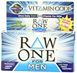 Garden of Life Vitamin Code Raw One for Men Multivitamin, 75 Capsules