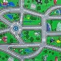 """1,4m² Wachstuchtischdecke """"Highway"""" Schutzdecke abwaschbar in 140cm Breite (Meterware) von blyco bei Gartenmöbel von Du und Dein Garten"""