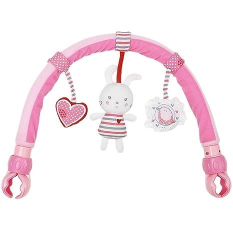 Happy cherry – Arche Articulée Universelle Stroll Nature Pals - Jouet d'activité jouet d'éveil pour poussette bébé – lapin