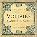 Candide and Zadig (       UNABRIDGED) by Voltaire Narrated by Clive Chafer