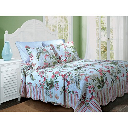 Greenland Home Secret Garden Bedspread, Twin, Full, Queen Or King greenland greenland gr002lubkp31