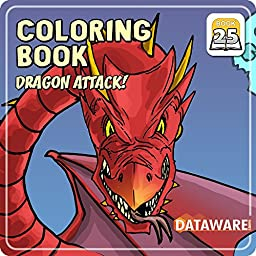 Coloring Book 25: Dragon Attack [Download]