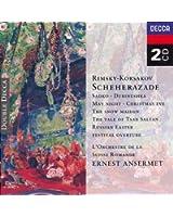 Rimsky-Korsakov : Schéhérazade - La Grande Pâque Russe - La Nuit de Mai - La Fille des Neiges - Le Conte du Tsar Saltan (extraits)...