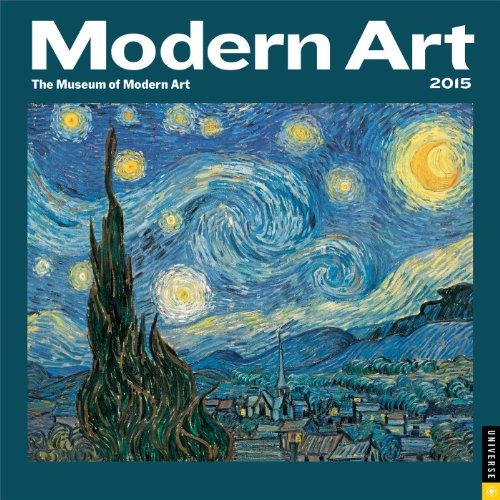 Modern Art 2015 Wall Calendar