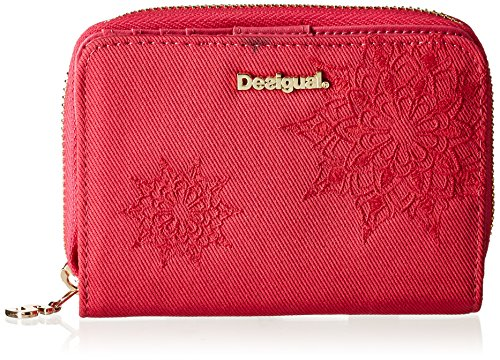 Desigual  Magnetic Emma, Portamonete  Donna Rosso Rouge (Rose Red) Taille Unique