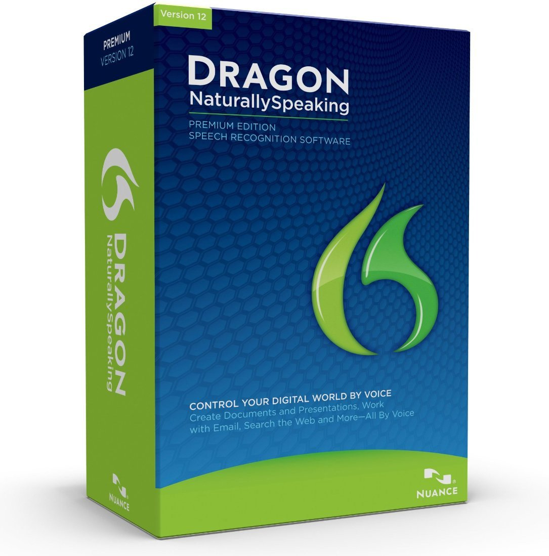Dragon NaturallySpeaking Premium 12, English $74.99