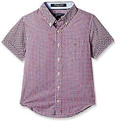 Gant Boys' Shirt (GBSFF0022_Red_S)