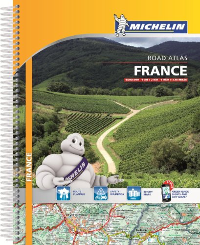 Michelin France Atlas Spiral (Atlas (Michelin))
