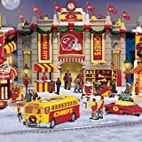 Kansas City Chiefs Collectible Christmas Village Collection - Subscription Plan at Amazon.com