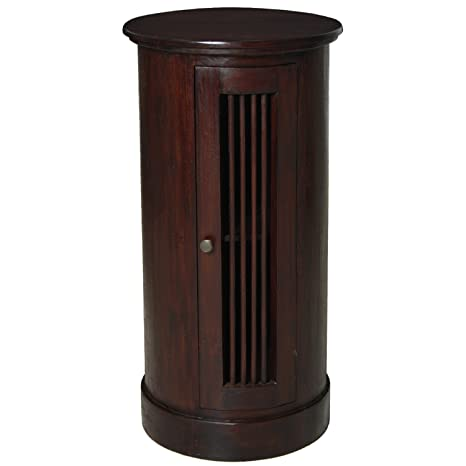 PAME 40317 - Mesa telefonera con 1 puerta, 80 x 40 cm