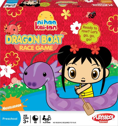 Ni Hao, Kai Lan Dragon Boat Race Game - 1