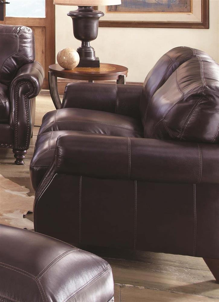 Chelsea Home Furniture Odessa Loveseat - Mojave Coffee