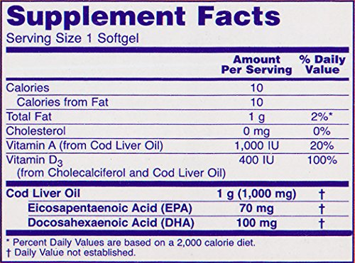 Now Foods Cod Liver Oil Soft Gels, 1000 mg, 180 Count promo code 2016