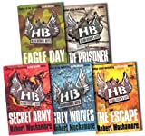 Robert Muchamore Hendersons Boys Collection Robert Muchamore 5 Books Pack Set RRP: £34.95 (Grey Wolves, The Escape, Eagle Day, Secret Army, The Prisoner)