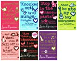 Louise Rennison Georgia Nicolson : 7 books (Stop in the Name of Pants / Are These my Basoomas I See Before Me / And That's When It Fell Off In My Hand / Then He Ate My Boy Entrancers / Luuurve Is A Many Trousered Thing... / Knocked Out By My Nunga-Nungas