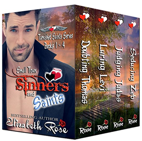 Small Town Sinners and Saints Boxed Set: (Books 1- 4 of the Tarnished Saints Series) (Town Inc compare prices)