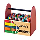 Personalized Wooden Crayon Caddy (Tamaño: One Size Fits All)