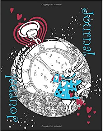The White Rabbit Journal [150 Unlined Pages/ Keepsake Diary]: Alice's Adventures in Wonderland/ Through the Looking Glass [Full-Size] (150th ... 2015 Keepsake Books Lewis Carroll) (Volume 5)