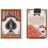 MMS Cards Bicycle Orange Back USPCC Trick