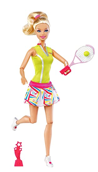 Barbie I Can Be Team Olympic Tennis Doll