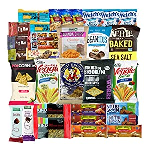 Healthy Snacks Care Package Variety Pack (30 Count) by Variety Fun