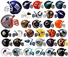 NFL Football Mini Helmets Pencil Toppers Capsule Toys Set of 32 Vending