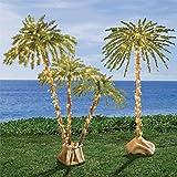 Brylanehome Pre-Lit 3-Branch Palm Tree