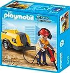 PLAYMOBIL 5472 - Bauarbeiter mit Pres...