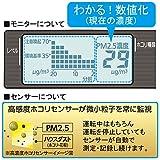 アイリスオーヤマ [PM2.5対応]空気清浄機 PM2.5ウォッチャー【17畳用】 PMMS-AC100
