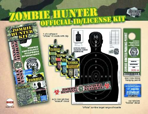 Spherewerx Zombie Hunter Novelty Set