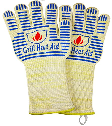 Why Should You Buy Extreme Heat BBQ Grill Gloves for Baking, Grilling, & Oven Use - Protection Up To...