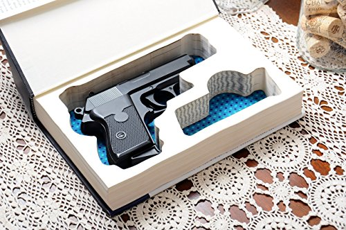 Hollow-Book-Safe-customized-storage-for-your-handgun-Magazine-Slot-Guns-Glock-Ruger-Springfield-SW-Colt-CZ-Sig-Sauer-Taurus-Kel-tec-Walther