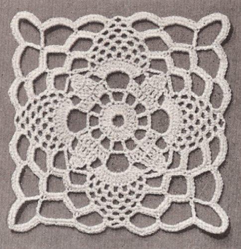 Motif Tablecloth Crochet Pattern Free : CROCHET PATTERNS FOR TABLECLOTHS : FOR TABLECLOTHS ...