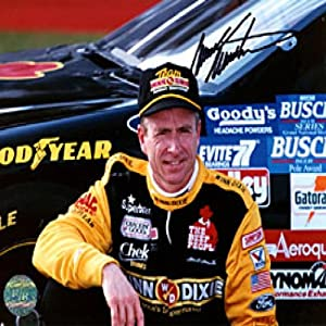 Mark Martin Autographed Signed 8x10 Photo by Memorabilia