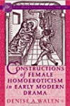 Constructions of Female Homoeroticism...