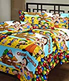 RajasthaniKart Cartoon Print Reversible AC Blanket (Soft, Skin friendly)