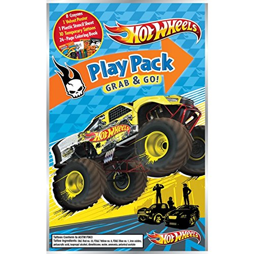 Hot Wheels Play Pack Grab & Go