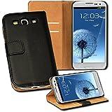 OneFlow PREMIUM - Book-Style Case im Portemonnaie Design mit Stand-Funktion - f�r Samsung Galaxy S3 / S3 Neo (GT-i9300 / GT-i9301) - SCHWARZ