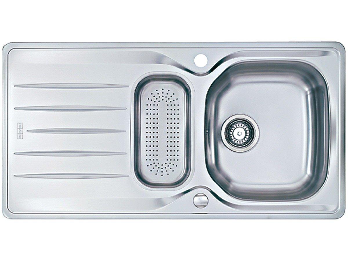 Franke Libera LIX 651 Edelstahl glatt Küchenspüle Spülbecken Auflagespüle Einbau  BaumarktKundenberichte und weitere Informationen