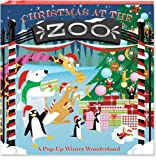 img - for Christmas at the Zoo: A Pop-Up Winter Wonderland book / textbook / text book