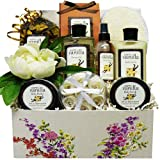 Art de' Moi Warm Vanilla Spa Bath and Body Care Package Box Gift Set