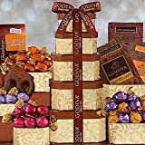 Classic Dad Godiva Chocolate Gift Tower for Fathers Day
