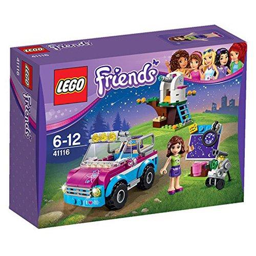 Lego 41116 LEGO Friends - Set Coche de exploradora de Olivia, multicolor (41116)