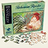 Bohemian Rooster 1,000-Piece Jigsaw Puzzle Susan Winget