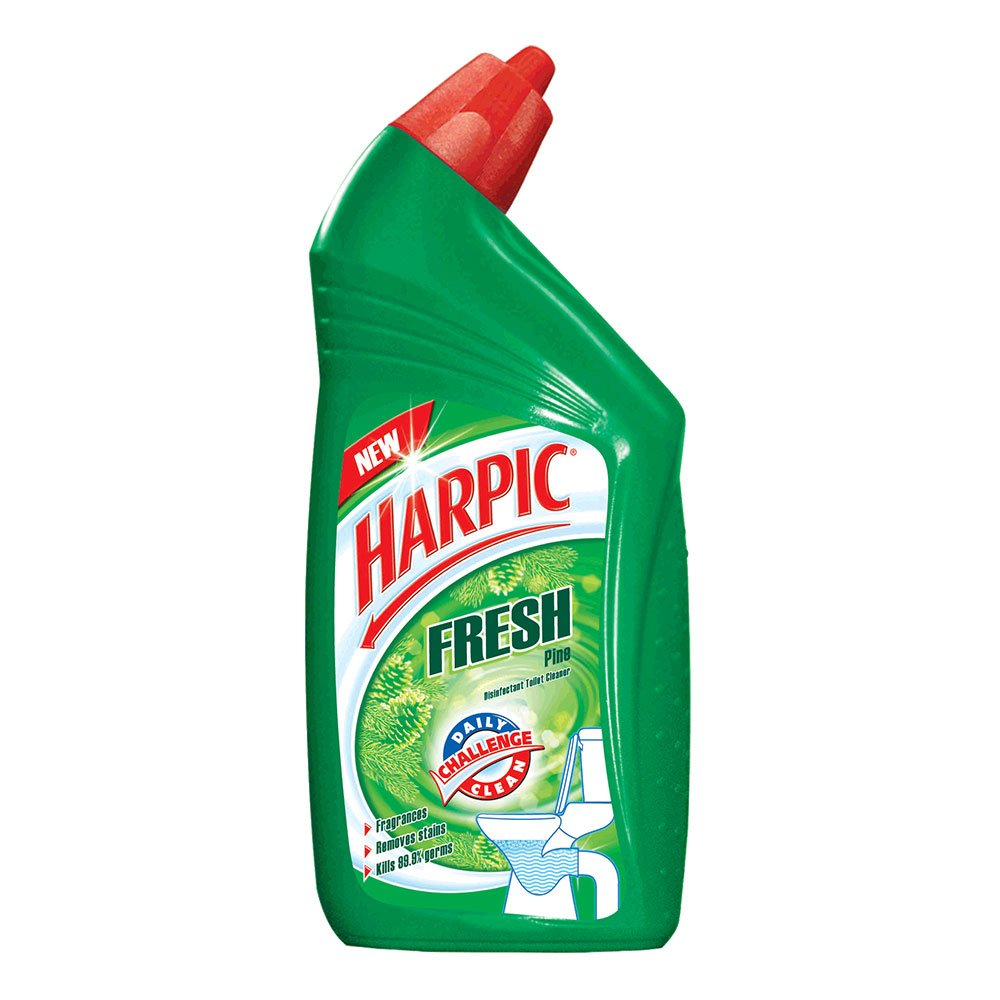 Bathroom cleaning services in bangalore - Harpic Fresh Toilet Cleaner Pine 500 Ml