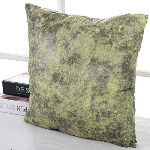 Deconovo Faux Suede Soft Decorative Pillowcase Cushion