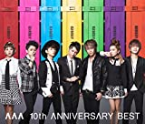 AAA 10th ANNIVERSARY BEST(ALBUM3���g+DVD)